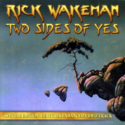Rick Wakeman - Two Sides of Yes CD (album) cover