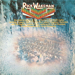 Rick Wakeman Journey To The Centre Of The Earth album cover