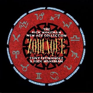 Rick Wakeman Zodiaque album cover