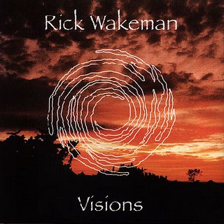 Rick Wakeman - Visions  CD (album) cover
