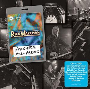 Rick Wakeman Access All Areas album cover