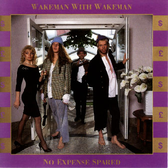Rick Wakeman No Expense Spared album cover