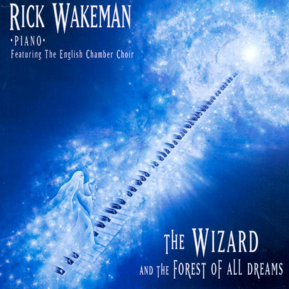 Rick Wakeman The Wizard And The Forest Of All Dreams album cover