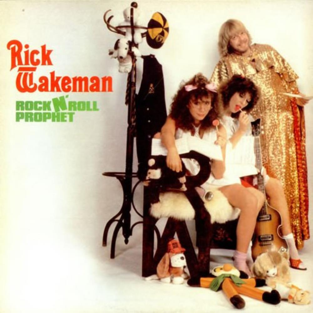 Rick Wakeman - Rock N' Roll Prophet CD (album) cover
