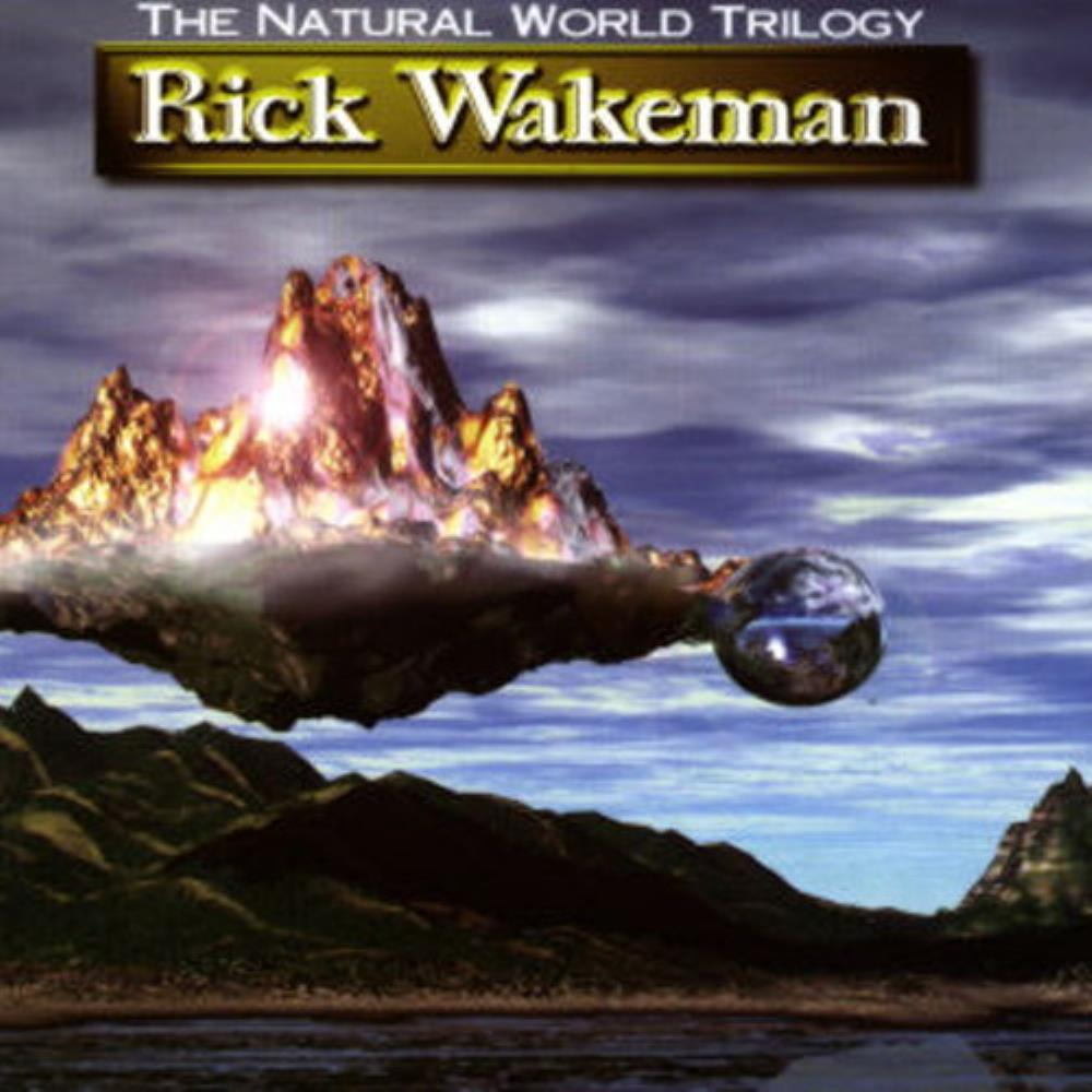 Rick Wakeman The Natural World Trilogy album cover
