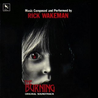 Rick Wakeman The Burning (Film Soundtrack) album cover