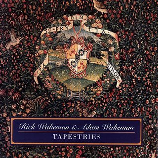 Rick Wakeman Tapestries  album cover
