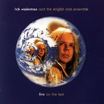 Rick Wakeman Live on the Test (1976) album cover