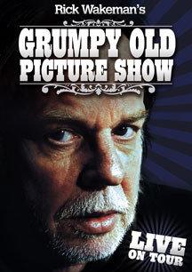 Rick Wakeman - Rick Wakeman's Grumpy Old Picture Show CD (album) cover