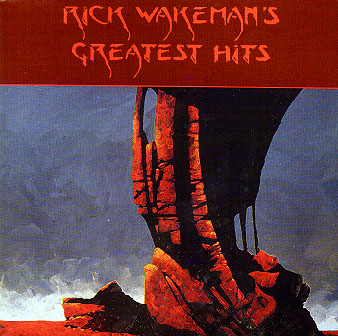 Rick Wakeman - Rick Wakeman's Greatest Hits CD (album) cover