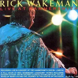 Rick Wakeman Live At Hammersmith album cover