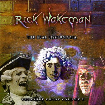 Rick Wakeman - Treasure Chest Volume 1 - The Real Lisztomania CD (album) cover