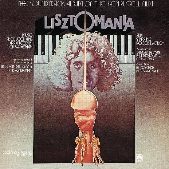 Rick Wakeman - Lisztomania CD (album) cover
