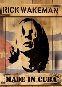 Rick Wakeman Made In Cuba (DVD) album cover