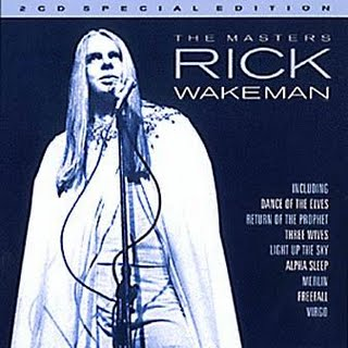 Rick Wakeman The Masters album cover