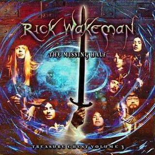 Rick Wakeman - Treasure Chest Volume 3 - The Missing Half  CD (album) cover