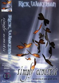 Rick Wakeman Simply Acoustic (VHS) album cover
