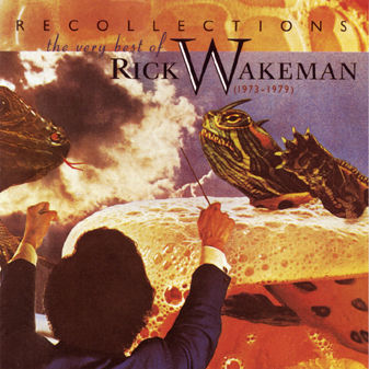 Rick Wakeman - Recollections: The Very Best Of Rick Wakeman CD (album) cover