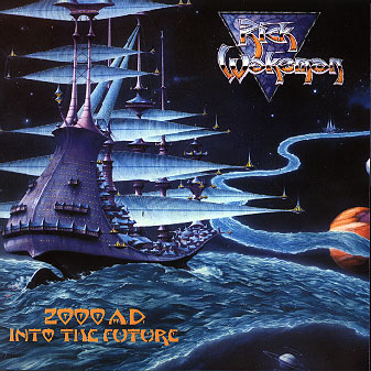 Rick Wakeman - 2000 A.D. into the Future CD (album) cover
