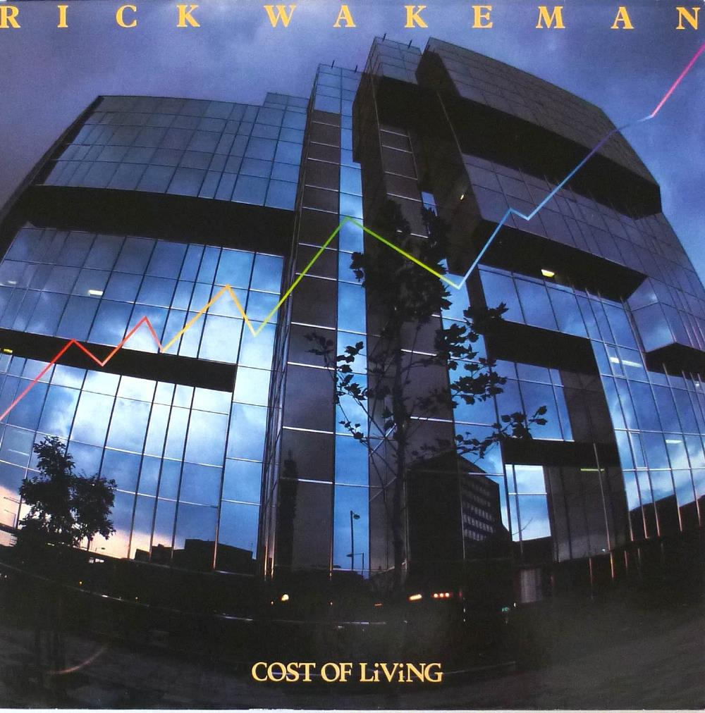 Rick Wakeman - Cost Of Living CD (album) cover