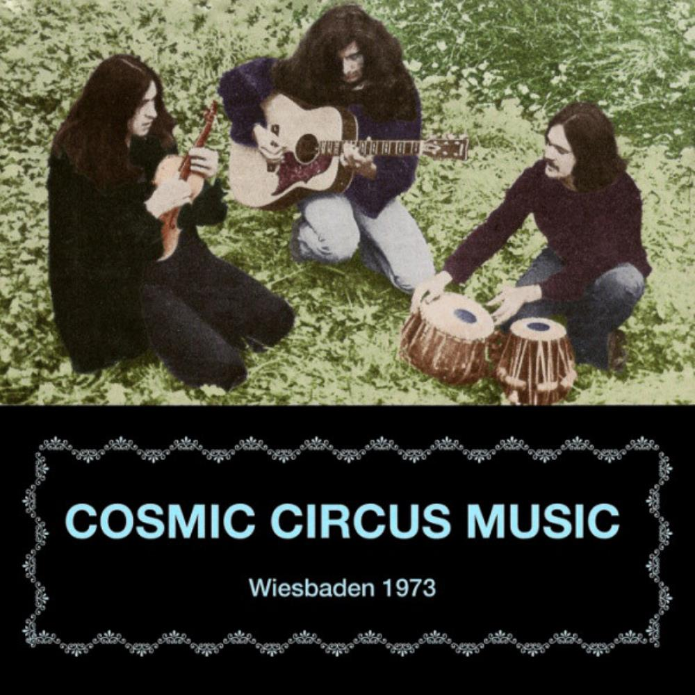 Cosmic Circus Music - Wiesbaden 1973 CD (album) cover