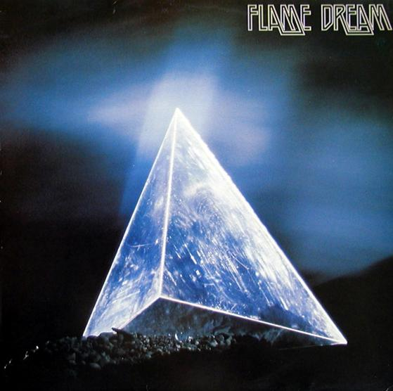 Flame Dream Out in the Dark album cover