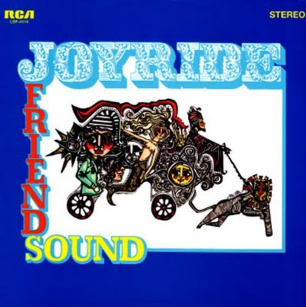 Friendsound - Joyride CD (album) cover