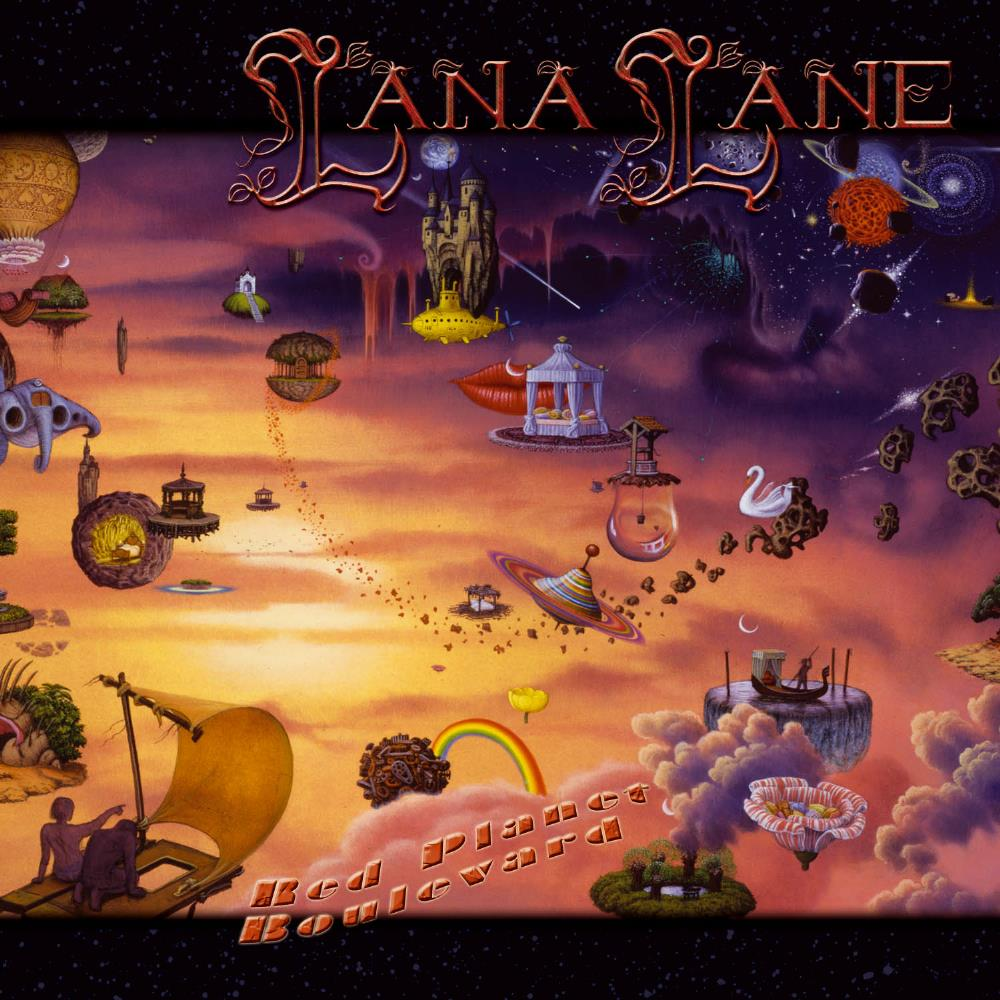 Red Planet Boulevard by LANE, LANA album cover