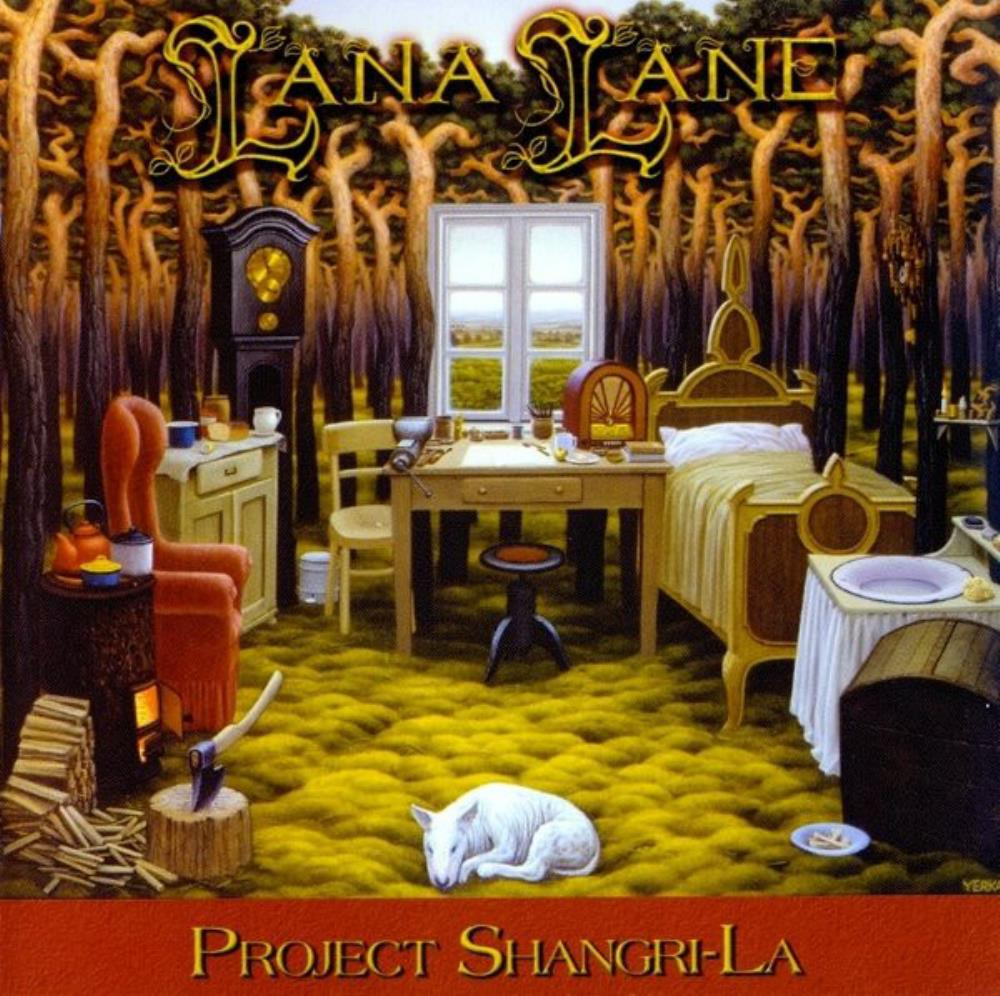 Project Shangri-La by LANE, LANA album cover