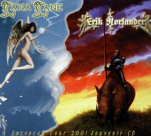 Lana Lane European Tour 2001 Souvenir CD (Lana Lane and Erik Norlander) album cover