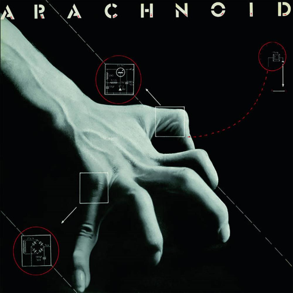 Arachnoid - Arachnoid CD (album) cover