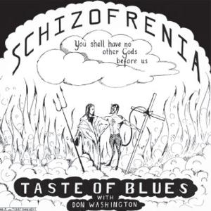Schizofrenia by TASTE OF BLUES album cover