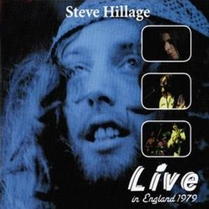 Live In England 1979 (CD+DVD) by HILLAGE, STEVE album cover