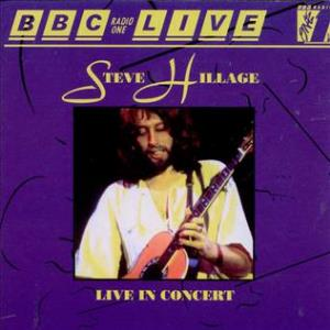 Steve Hillage BBC Radio 1 Live album cover
