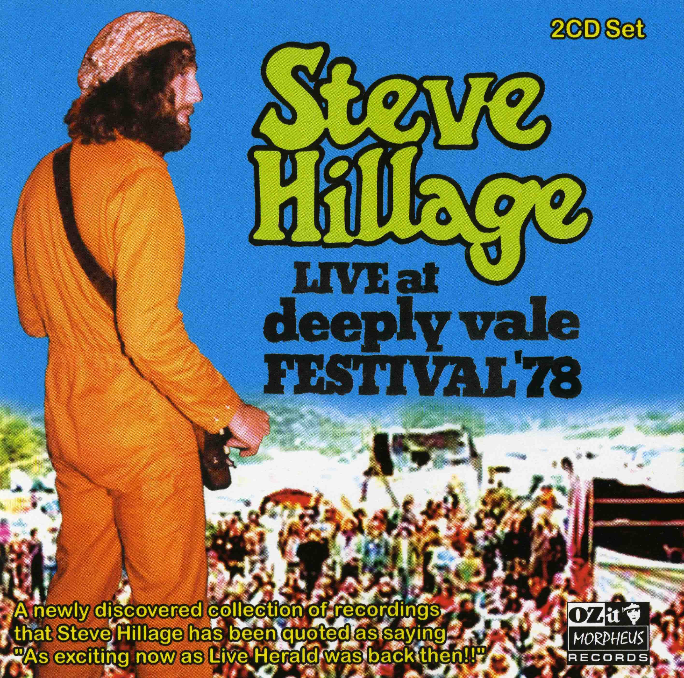 Live at Deeply Vale Festival 78 by HILLAGE, STEVE album cover