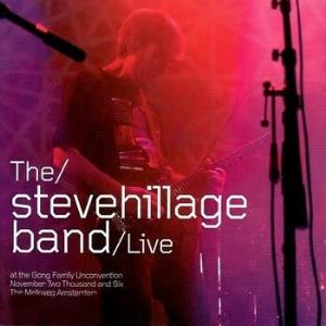 Live at the Gong Unconvention by HILLAGE, STEVE album cover