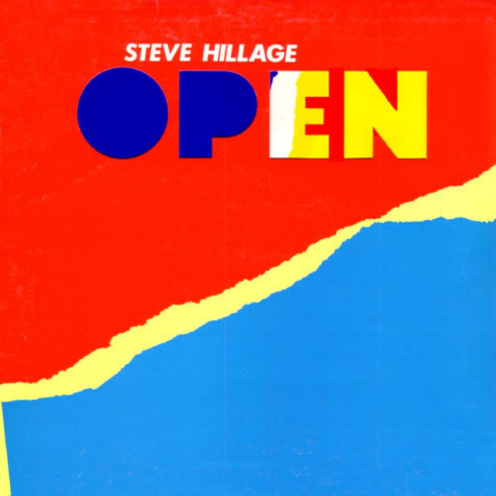 Open by HILLAGE, STEVE album cover