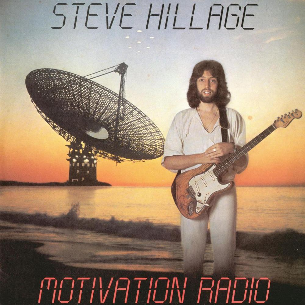 Motivation Radio by HILLAGE, STEVE album cover