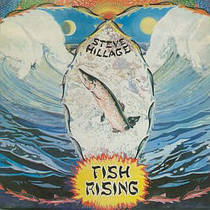 Steve Hillage Fish Rising album cover