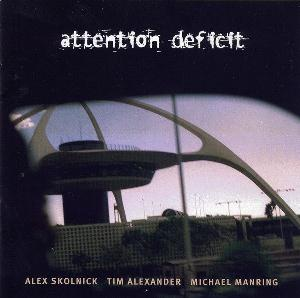 Attention Deficit - Attention Deficit CD (album) cover