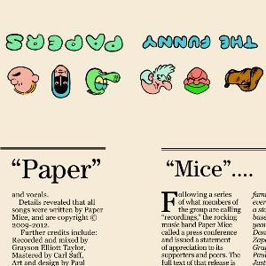 Funny Papers by PAPER MICE album cover