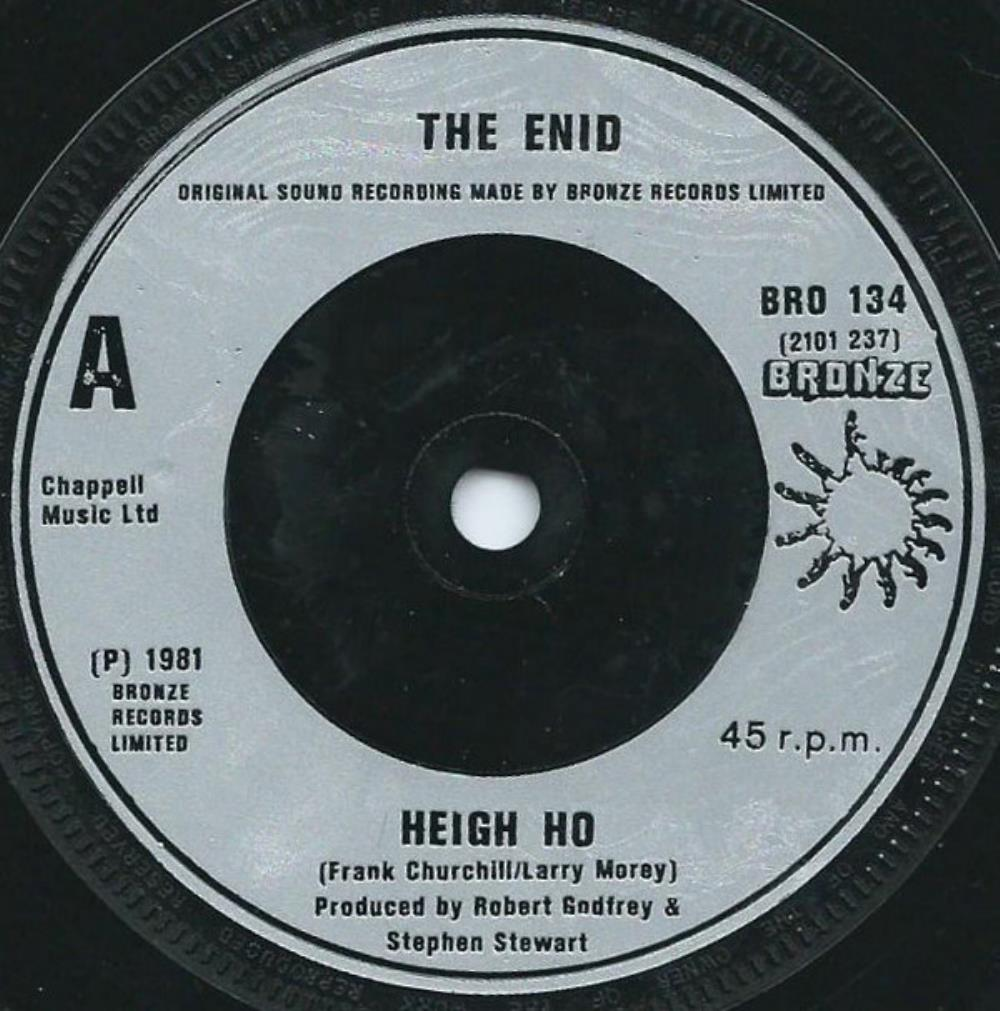 The Enid Heigh Ho album cover