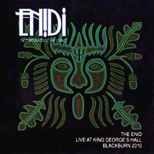 The Enid Live at King George's Hall Blackburn 2010 album cover