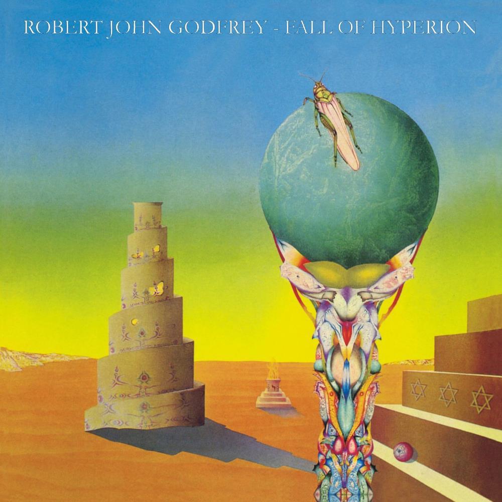Robert John Godfrey: Fall Of Hyperion by ENID, THE album cover