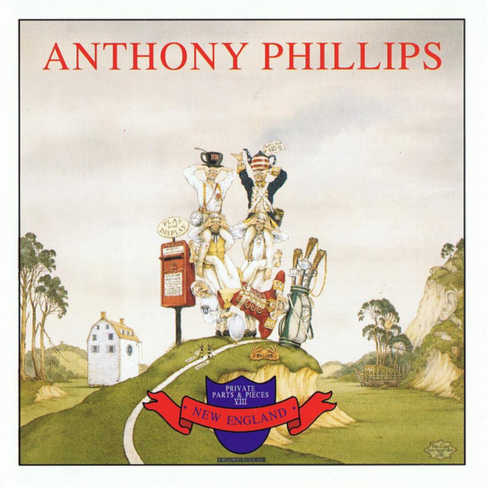 Anthony Phillips - Private Parts & Pieces VIII - New England CD (album) cover