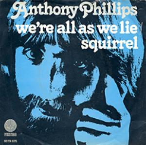 We're All as We Lie by PHILLIPS, ANTHONY album cover