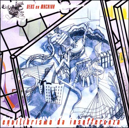 Deus Ex Machina - Equilibrismo da Insofferenza CD (album) cover