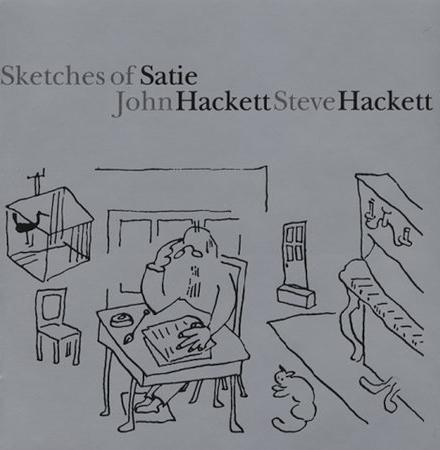Steve Hackett - Sketches of Satie CD (album) cover