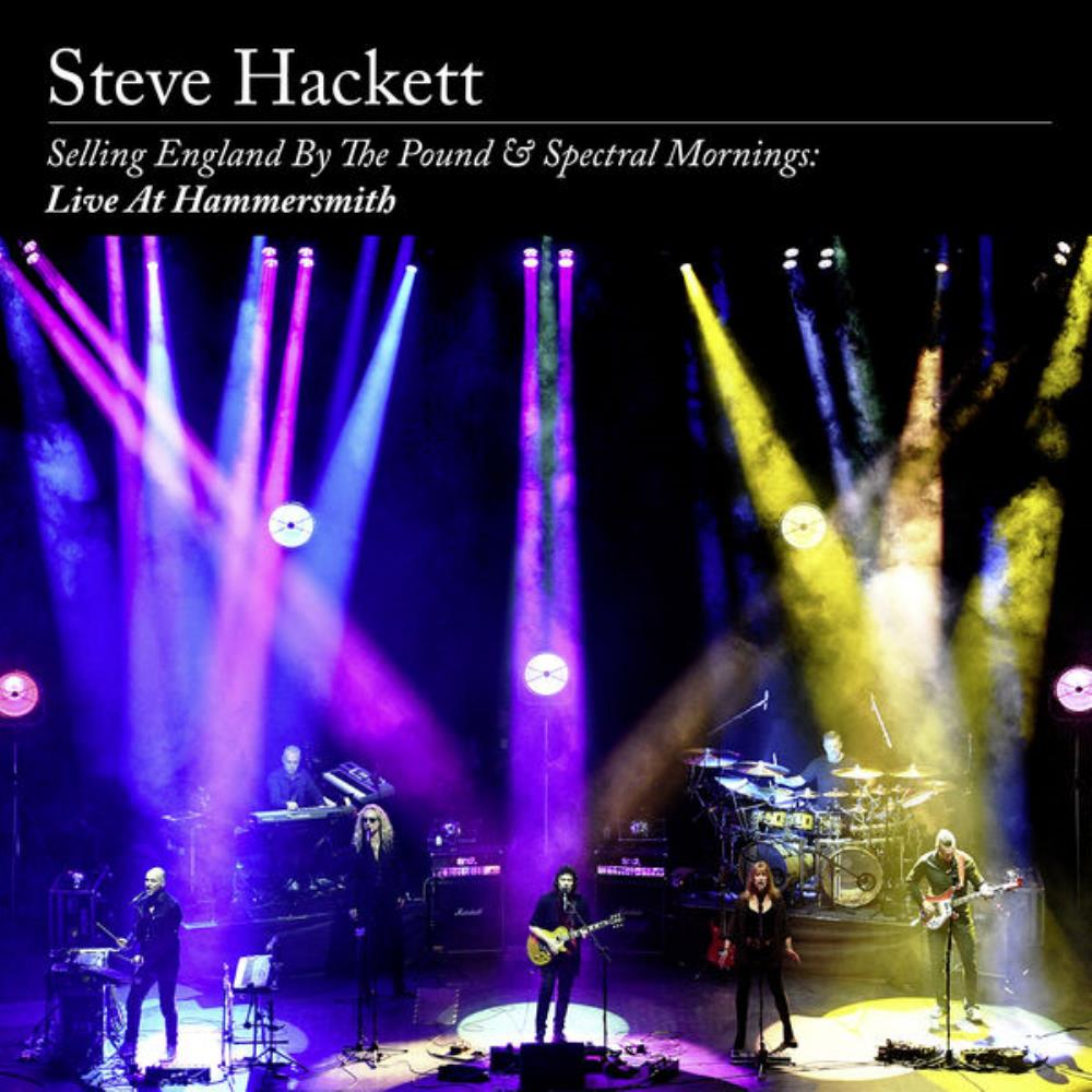 Steve Hackett - Selling England by the Pound & Spectral Mornings: Live at Hammersmith CD (album) cover