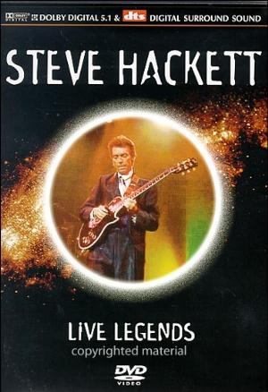 Steve Hackett Live Legends album cover